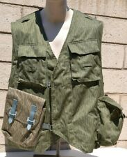 1958 EAST GERMANY DDR NVA MILITARY SPECIAL FORCES RAIN DROPS CAMO TACTICAL VEST