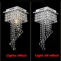 Modern Deckenlampe Luxuriö Kristall Deckenleuchte Flurleuchte Hängeleuchte NEU