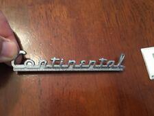 Lincoln Continental Emblem 40's
