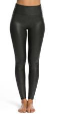 Spanx Faux Leather Leggings Pants 2437 Black M Retail $98