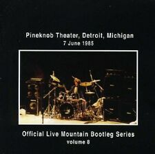 Mountain Live Pineknob Theater, Detroit, Michigan 1985 CD NEW SEALED Volume 8