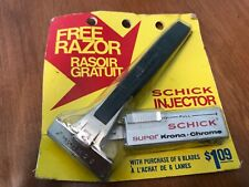 Injector Razor Schick Type M - NOS - BNIB - NEW NEVER USED