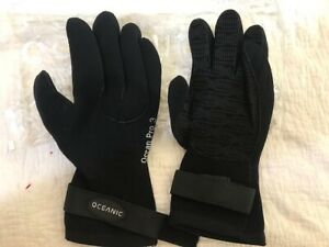 Oceanic Gloves - OceanPro 3 - Medium - Scuba Diving