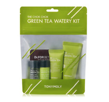 [Tonymoly] Green Tea Watery Travel Mini Kit 4pcs Moisturizing / Korea-Beauty