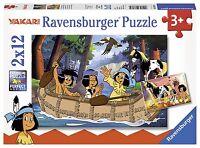 Ravensburger 07607 Yakaris Abenteuer  2 x 12 Teile Puzzle  NEU OVP/