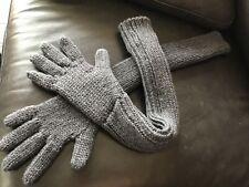 NWT Prada Virgin Wool Gloves,Black SZE S