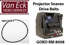 Goko RM 8008 belts. 4 belt set (BT-0711-VNOS)