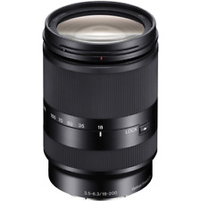 A - Sony Nex E 18-200mm F3.5-6.3 Systèmes D'Exploitation Le Lentille - Noir