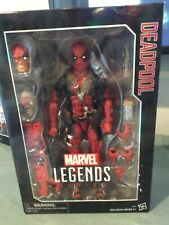 New unopened Marvel Legends Deadpool 12 Inch Figure classic red costume