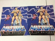 Masters Of The Universe He-Man Figurine Panini Sticker Albums