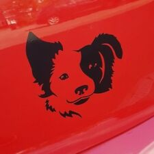 Collie Dog Vinyl Sticker Decal  in 4 colours