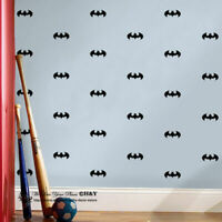 Batman Logo Removable Wall Stickers Vinyl Wall Decal Kids Boys Art Mural Decor