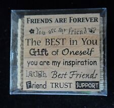 PSX Pixie Expressions Inspirational Words Phrases Friendship Rubber Stamps 10 ct