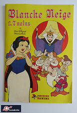 Album PANINI Disney  : Blanche Neige et les Sept Nains - Grand Format - 1983