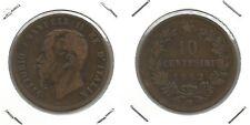 VITTORIO EMANUELE II - 10 Centesimi 1862 M (5)