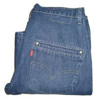 Mens LEVI'S ENGINEERED TWISTED Bootcut Blue Denim Jeans W32 L32