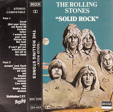 "K 7 AUDIO (TAPE)  THE DROLLING STONES  ""SOLID ROCK"""