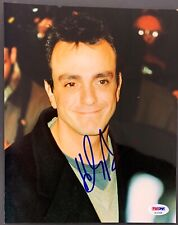 Hank Azaria Signed Photo PSA/DNA 8x10 Autograph The Simpsons Bird cage Donovan