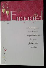 "F34)Lot de 16 Cartes ""You're Engaged"" + enveloppes Jaune - Neuf"