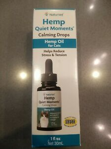 Hemp Quiet Moments (For Cats) Calming Drops