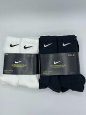 Nike crew socks size L everyday plus cotton cushioned crew socks size Large new