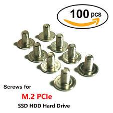 100pcs/Lot M2 x 3mm Phillips Pan Head Screw for M.2 PCIe SSD HDD Hard Drive