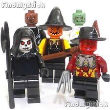 Lego 5x Zombie Freddy Death Troll Scarecrow Pumpkin Werewolf Beast Minifigs NEW