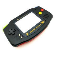 GBA Nintendo Game Boy Advance Replacement Housing Shell Screen Black Pokemon