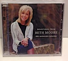 DEVOTIONS FROM BETH MOORE 2 CD SET 20th Anniversry Collection New FACTOR SEALED