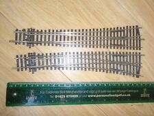 Peco of Long Nickel Silver Left & Right Points for Hornby OO Gauge Train Sets