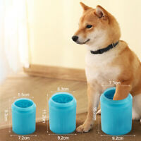 Portable Dog Foot Washer Brush Cup Soft Silicone Bristle Pet Paw Cleaner DISPLAY