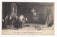 blois , le château , assassinat du duc de guise