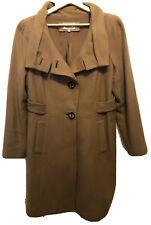Size 16 Veronika Maine long wool coat made in Australia Rrp$699