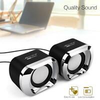 Bonks DX12 Mini Portable USB2.0 Subwoofer Speaker for Desktop PC Laptop-White