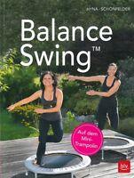 Hyna: Balance Swing auf dem Mini-Trampolin NEU Handbuch/Fitness/Übungen/Training