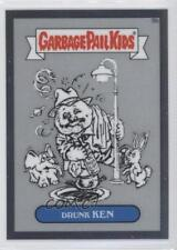 2013 Topps Garbage Pail Kids Chrome Pencil Art Concept Sketches 9b Drunk Ken 0a1