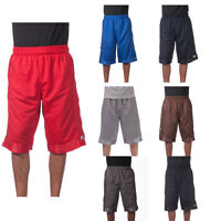 Pro Club Men's mesh Shorts Basketball Pocket Heavy weight Jersey gym Fitness New