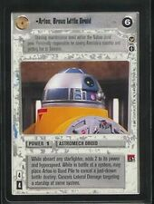 Star Wars CCG Theed Palace Rare Artoo, Brave Little Droid