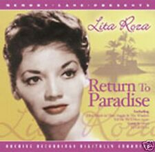 CD LITA ROZA RETURN TO PARADISE HOW MUCH IS THAT DOGGIE HIGH NOON EBB TIDE JOEY