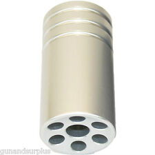 Fits Ruger 10/22 Muzzle Brake Compensator Threaded 1/2-28 TPI 1022 SILVER