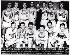 1945-46 Rochester Royals team photo picture 8 by X 10 Chuck Connors Otto Graham