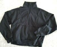 Richer Poorer Womens Black Mock Neck Sweatshirt Long Sleeve Soft Small (DD2)