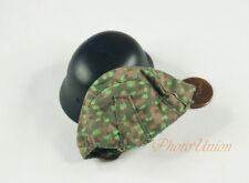 1:6 Dragon Figure WW2 German M35 M42 Helmet Cover Pea Dot 44 Camouflage DA242