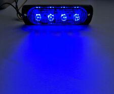 Super Bright Blue Car Emergency Warning Led Strobe Light Bar 19 Flashing Pattern