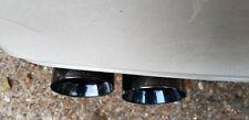 BMW F87/F80/F82/F83 M2/M3/M4 S/Steel Black Chrome Euro ///M (Style) Exhaust Tips