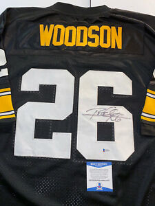 Rod Woodson Autographed Signed Pittsburgh Steelers Jersey with Beckett Hof