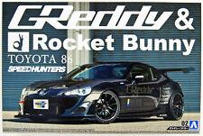 Aoshima 1/24 escala Greddy cohete Bunny Toyota GT86 Modelo Kit * Speedhunters Volk