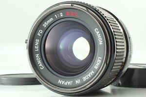 [Near Mint] Canon FD 35mm f2 S.S.C SSC MF Wide Angle Lens From JAPAN *1026