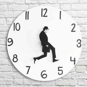Walk Decor  Monty Python Wall Funny Clock Analog Silent Silly Home Office Gift
