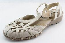 Skechers Gladiator Beige Synthetic Women Shoes Size 6 Medium (B, M)
